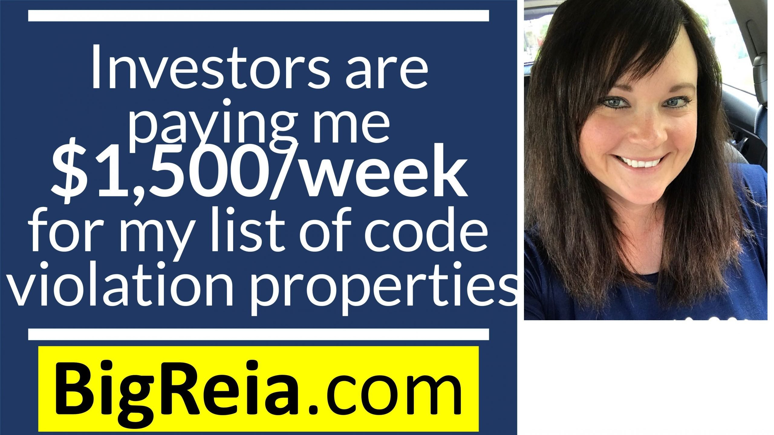 How I'm making $1,500 a week from my list of code violation properties and motivated sellers.
