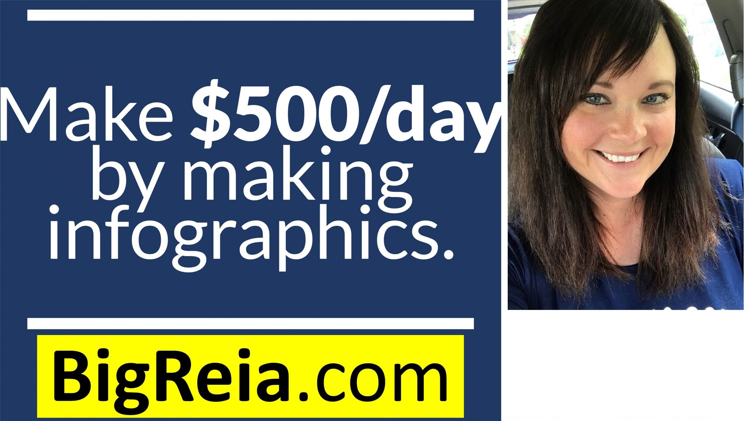 How to make an extra $500/day by making infographics, our Special Needs Kids ROCK!