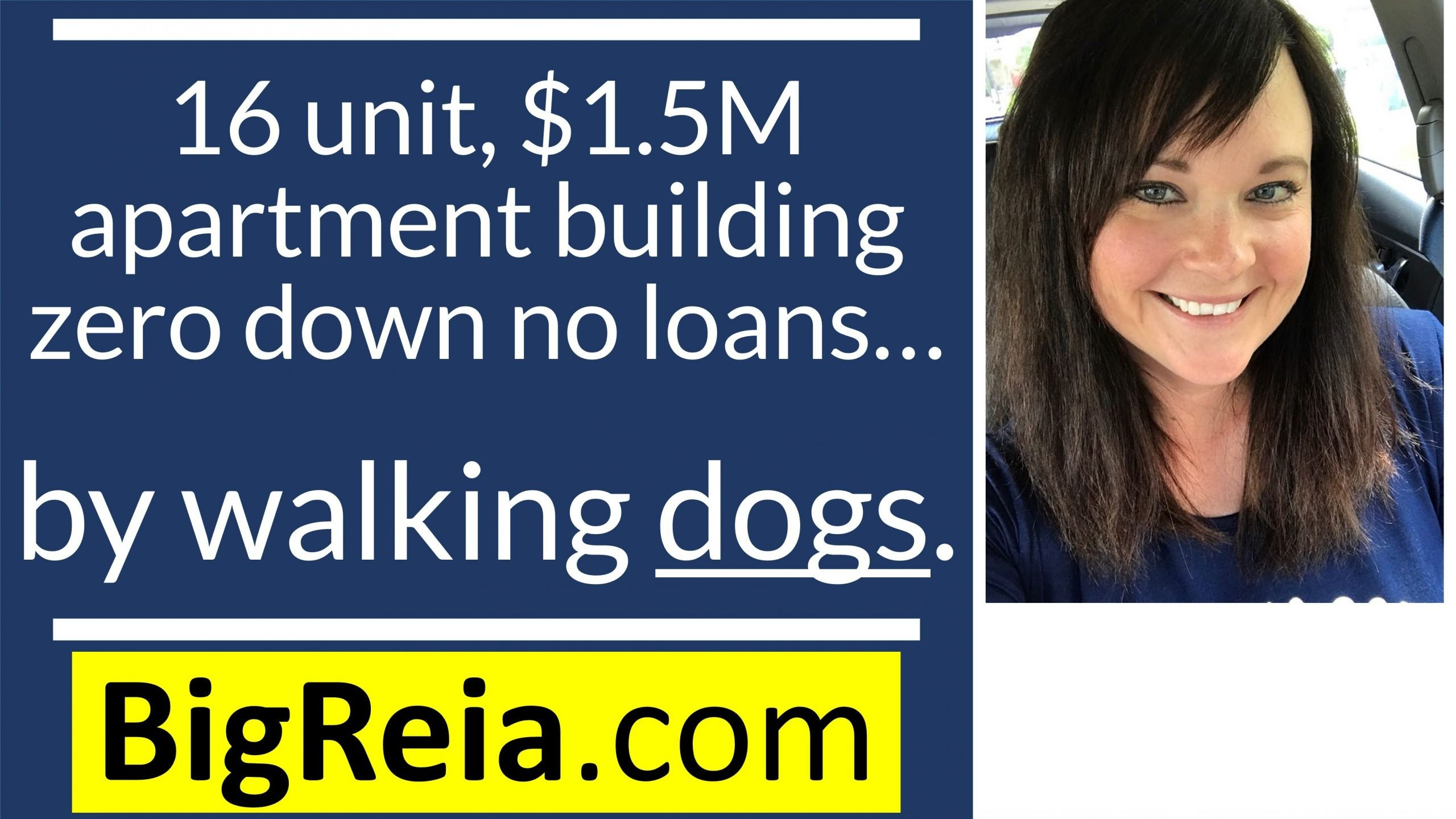 How I got a 16 unit, $1.5M apartment building zero down by walking a few dogs and pet policies lol.