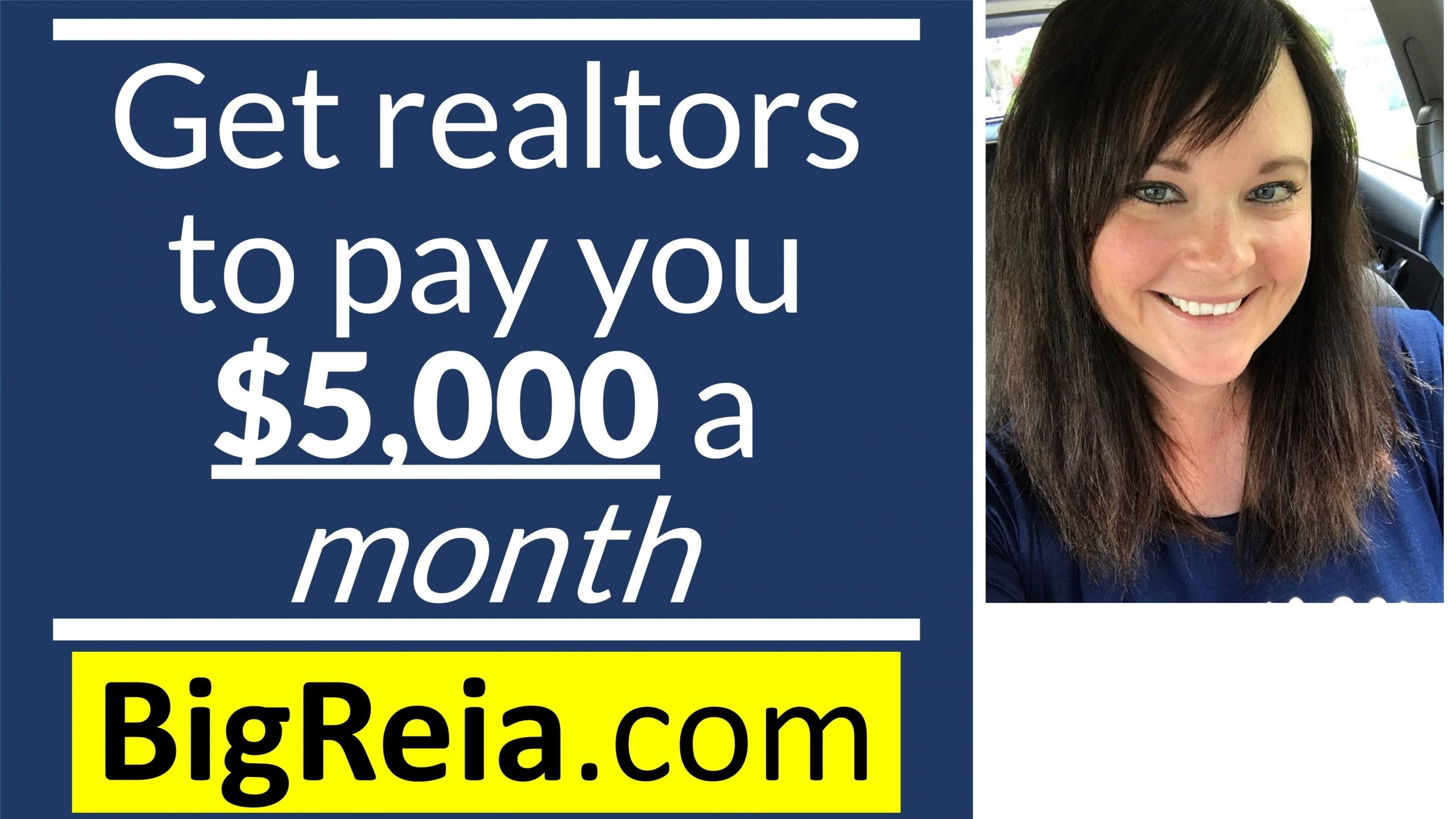 Getting realtors to pay you $5,000 a month, by selling them back their OWN testimonials LOL.