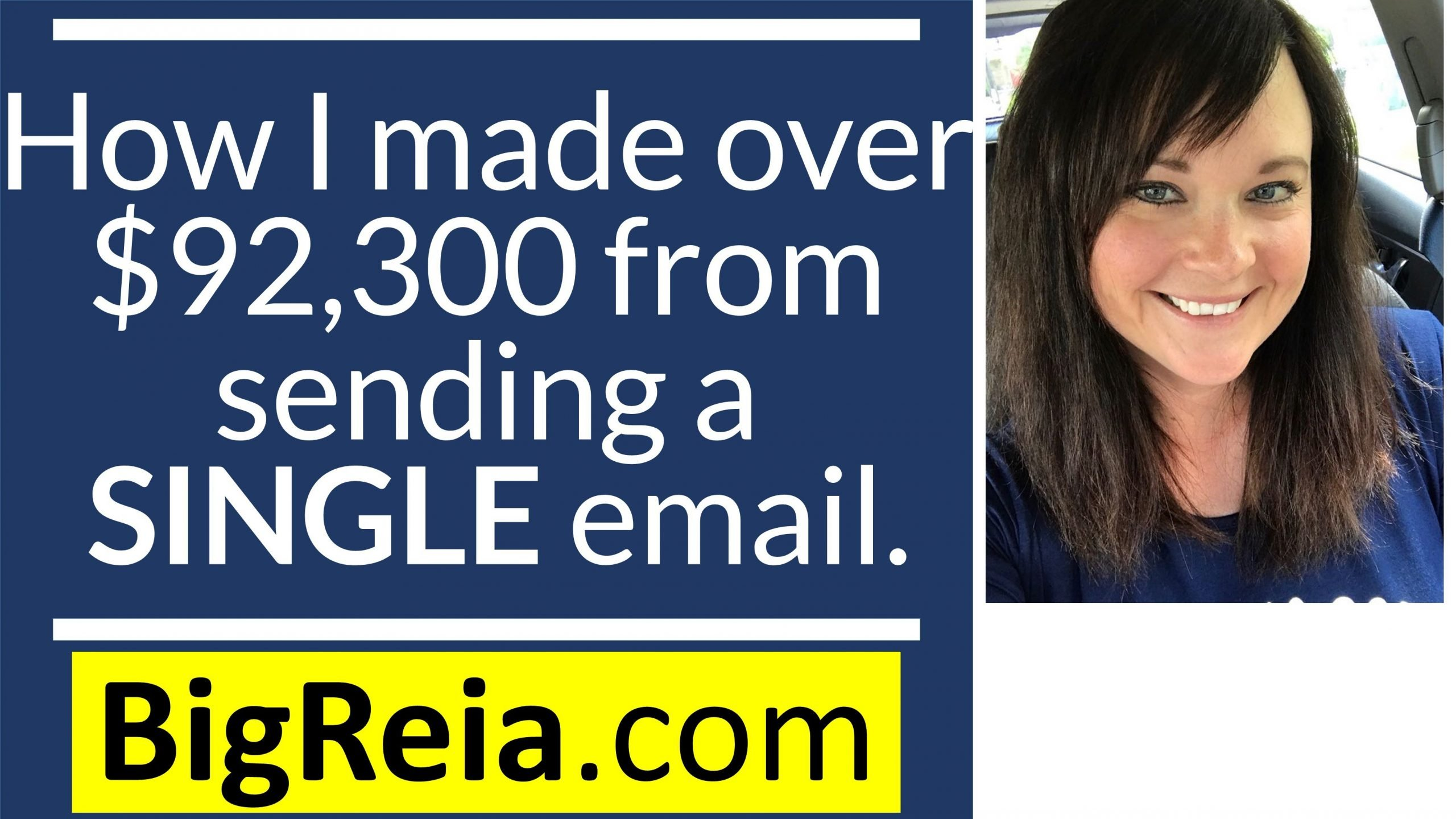 How I made over $92,000 from sending a SINGLE email by working with new home builders.