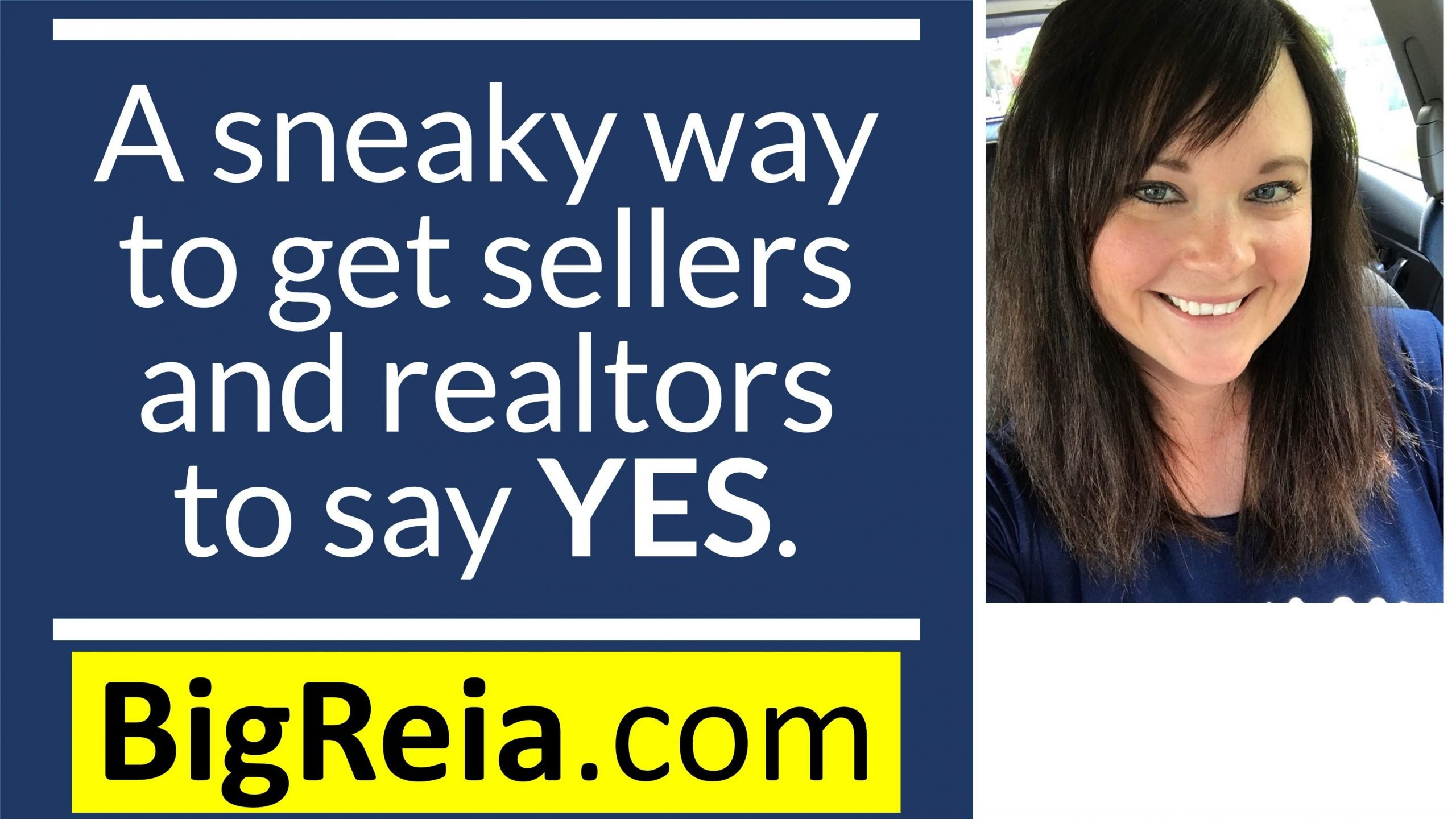 A sneaky way to get sellers to say yes and realtors to send you lease option deals, all day yall.