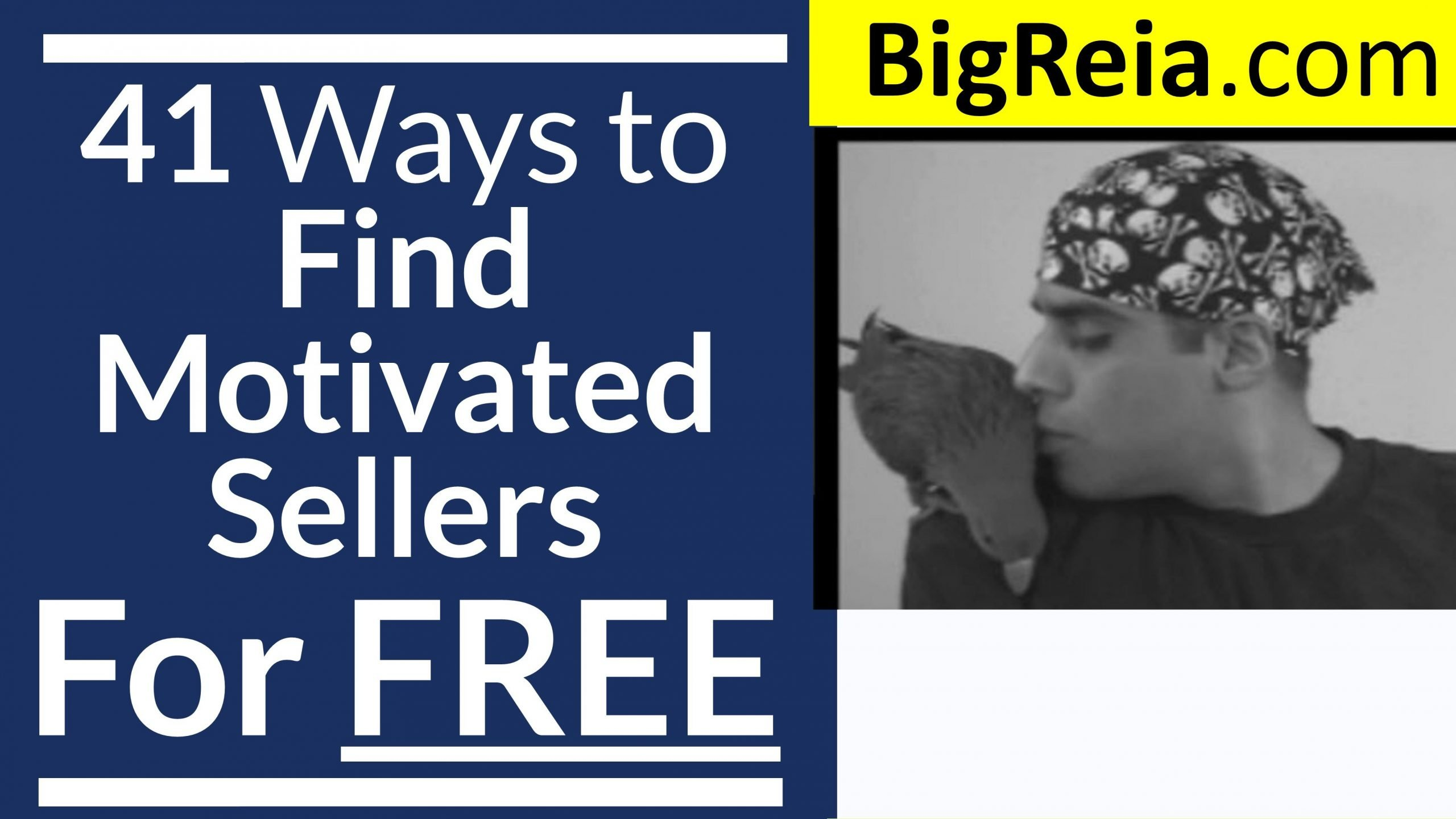 100 FREE Ways to Find Motivated Sellers for Real Estate Investors