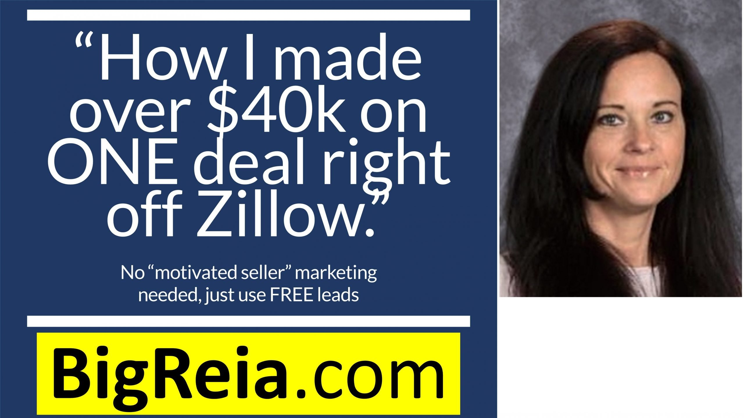 """How I made 40k on ONE land flip off Zillow!"" One year's income on ONE deal?"