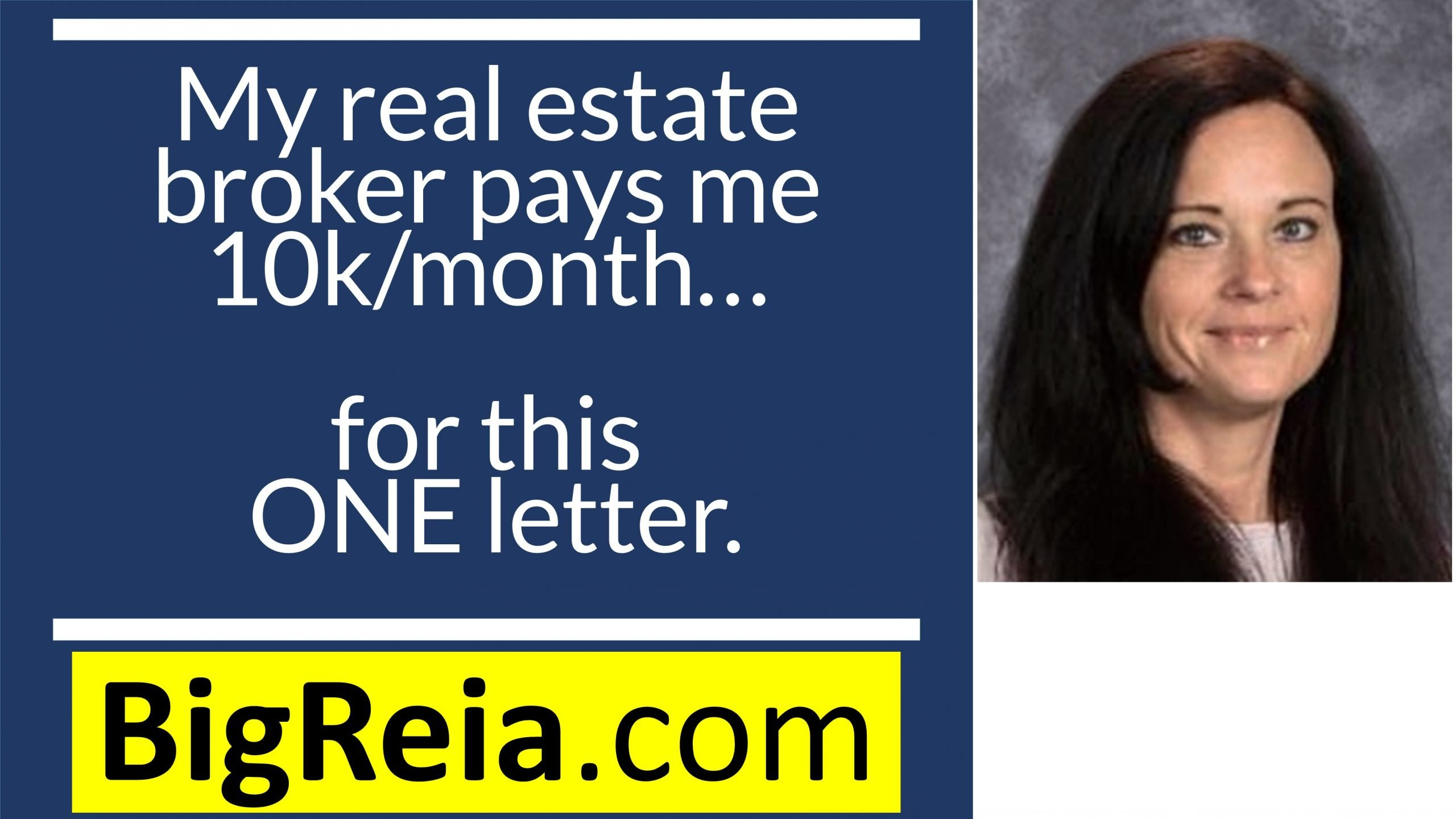 How I got my real estate broker to pay me 10k/month by renting them BACK their own letter.