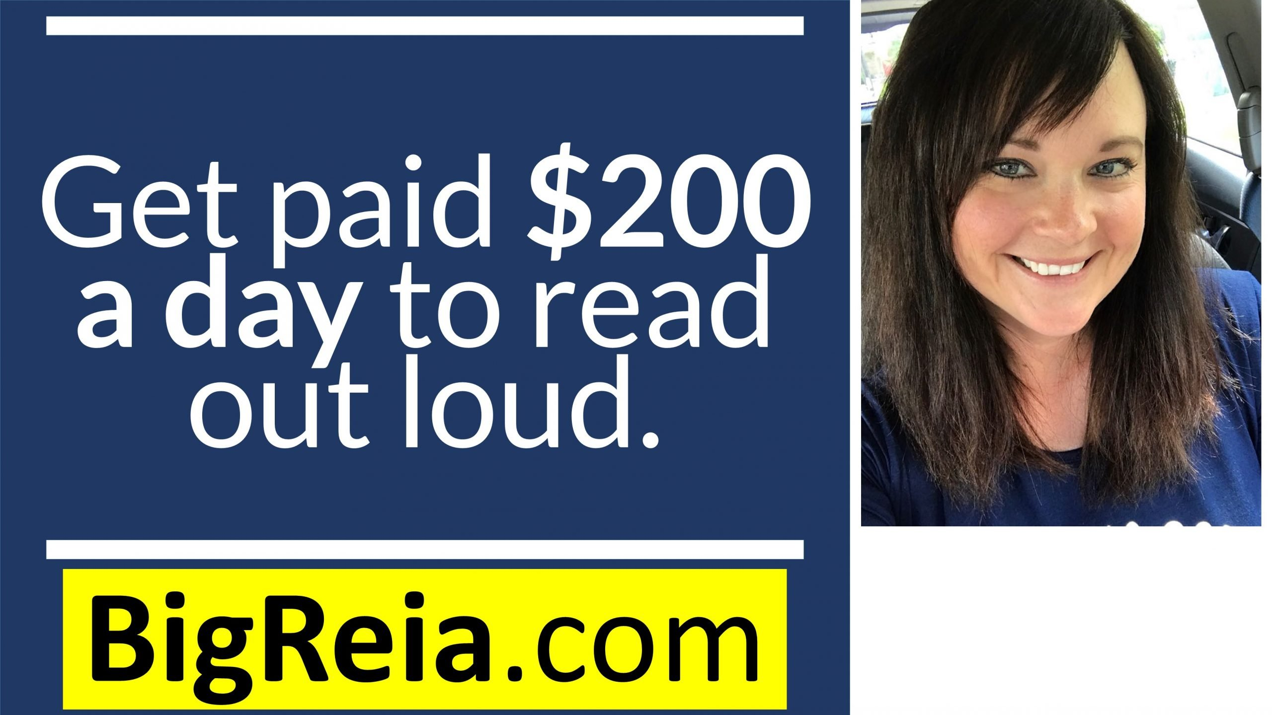 Real estate investors: how to make an extra $200/day from reading out loud. Quarantine money y'all.