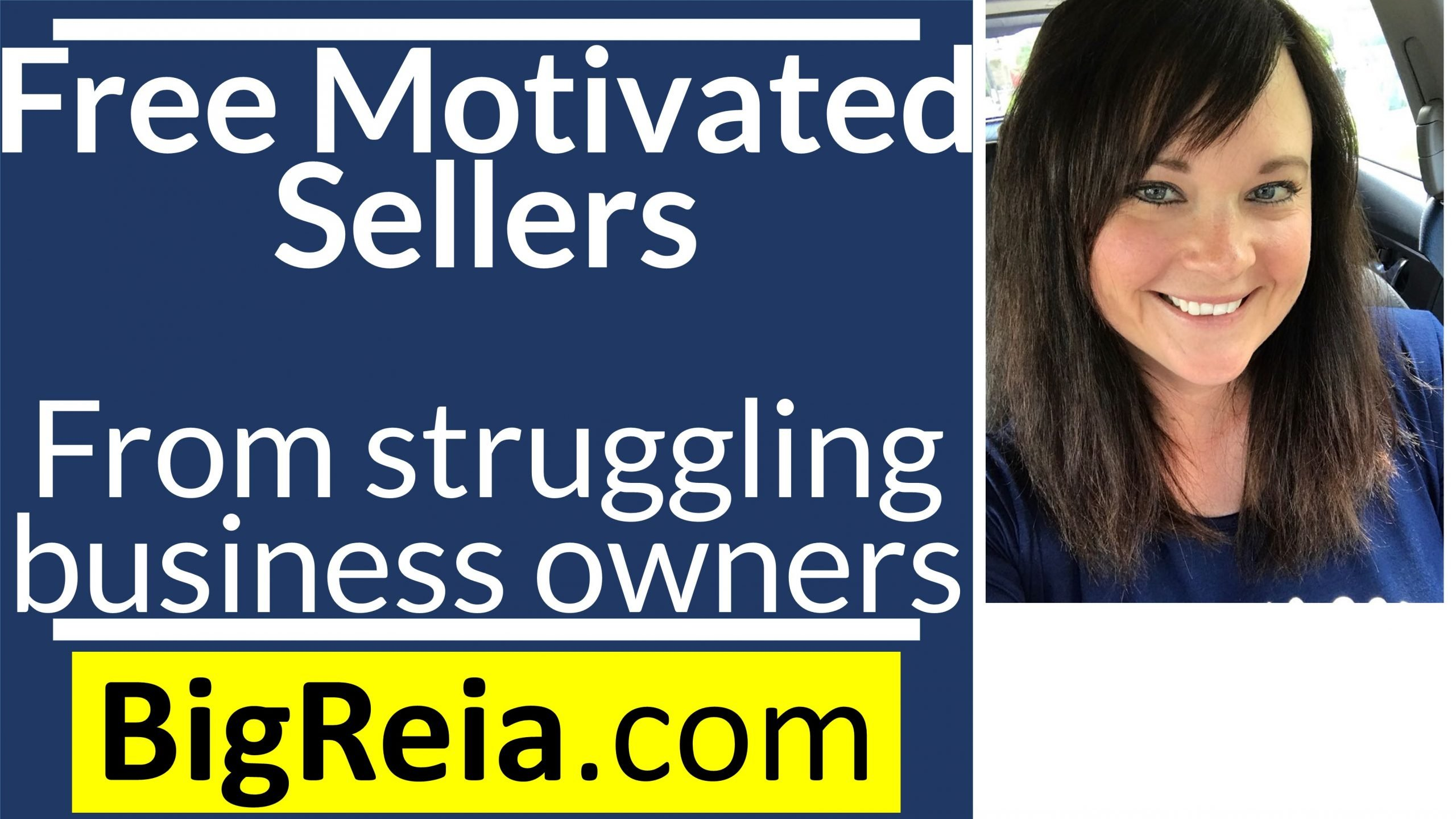 How to get free motivated sellers by helping business owners who are going out of business.