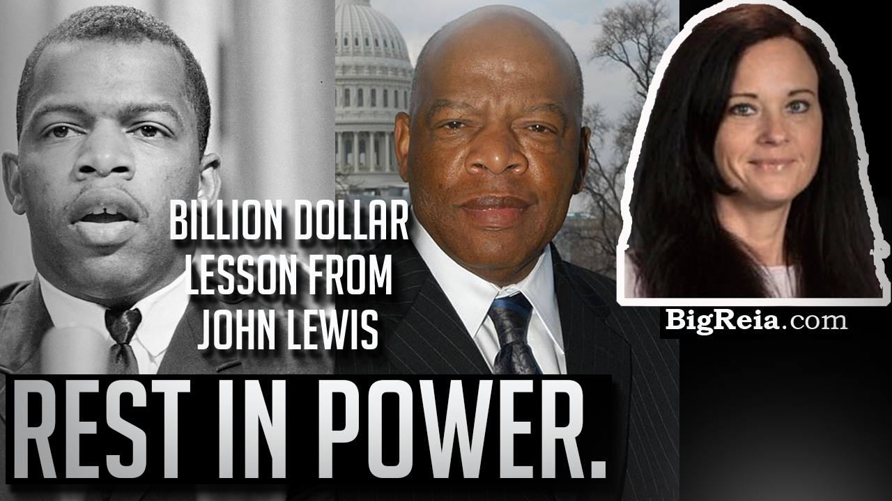 What legendary activist John Lewis can teach real estate investors?  This changed my life.