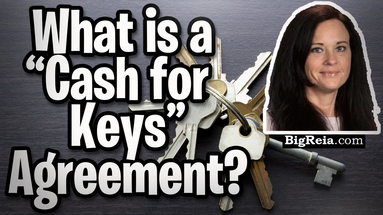 "What is a ""cash for keys"" agreement and should I ever pay a tenant to leave?  Plus FREE paperwork."