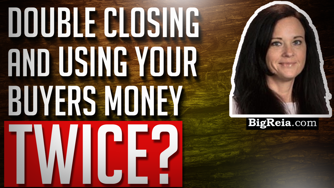 Can I double close and use my buyer's money to buy the house?  Yes, but here's why you shouldn't.