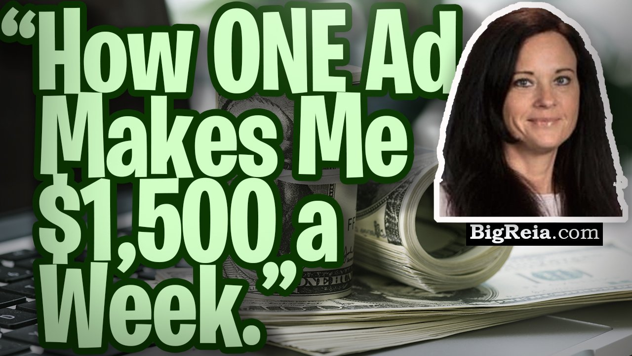 """How ONE ad makes me $1,500 a week.""  How to rent ads out like they are houses and make 3-5k/month."