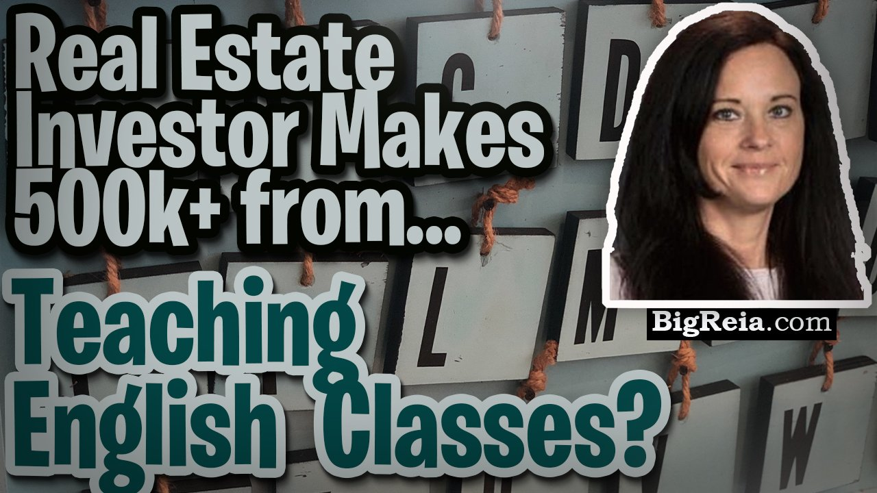 Motivated seller leads from ESOL classes, real estate investor makes 700k from teaching English.