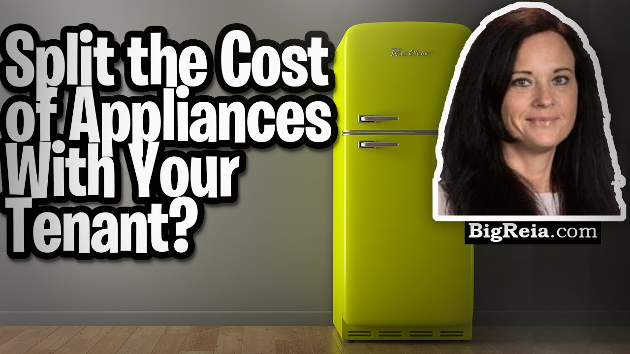 Can I split the cost of appliances with my tenant?  What if it is an owner occupied rental?