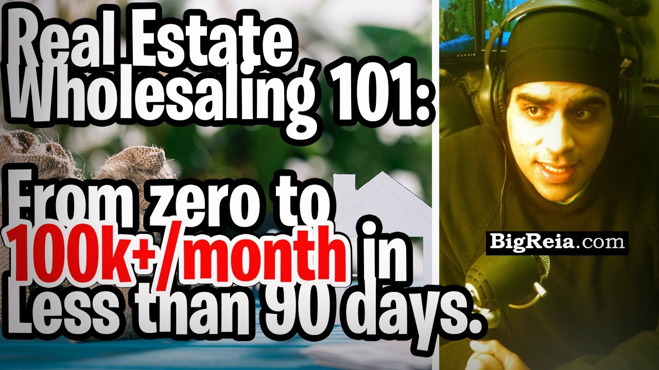 Seven steps to make six figures a month in your first 90 days as a beginning real estate wholesaler.