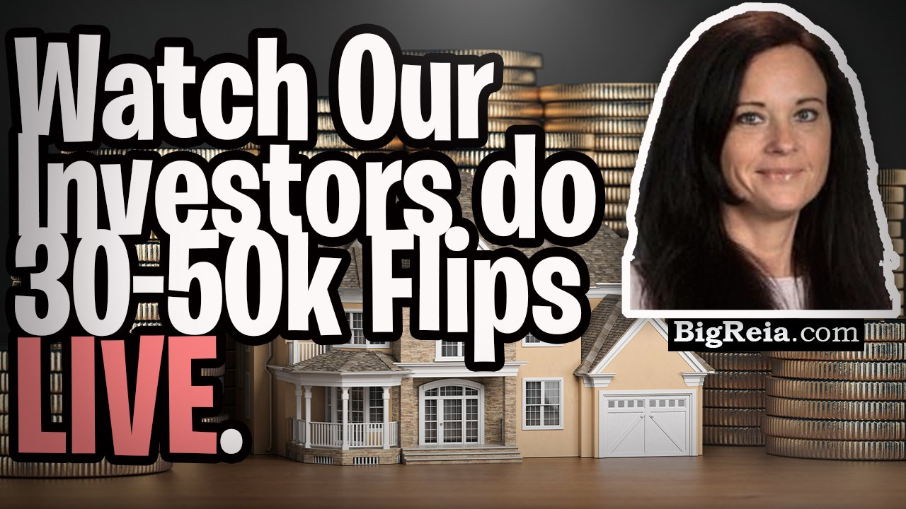 Watch us do 30-50k flips LIVE with Indy real estate, you'll see the whole process start to finish.
