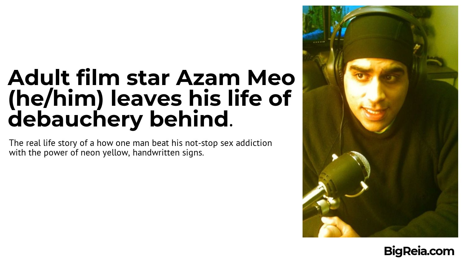 Azam Meo the beautiful adult film star