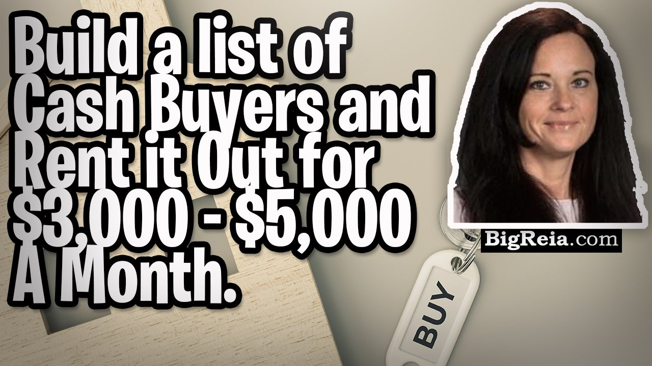 How to build a list of cash buyers with propstream and then rent that list out for $3,000- $5,000/mo