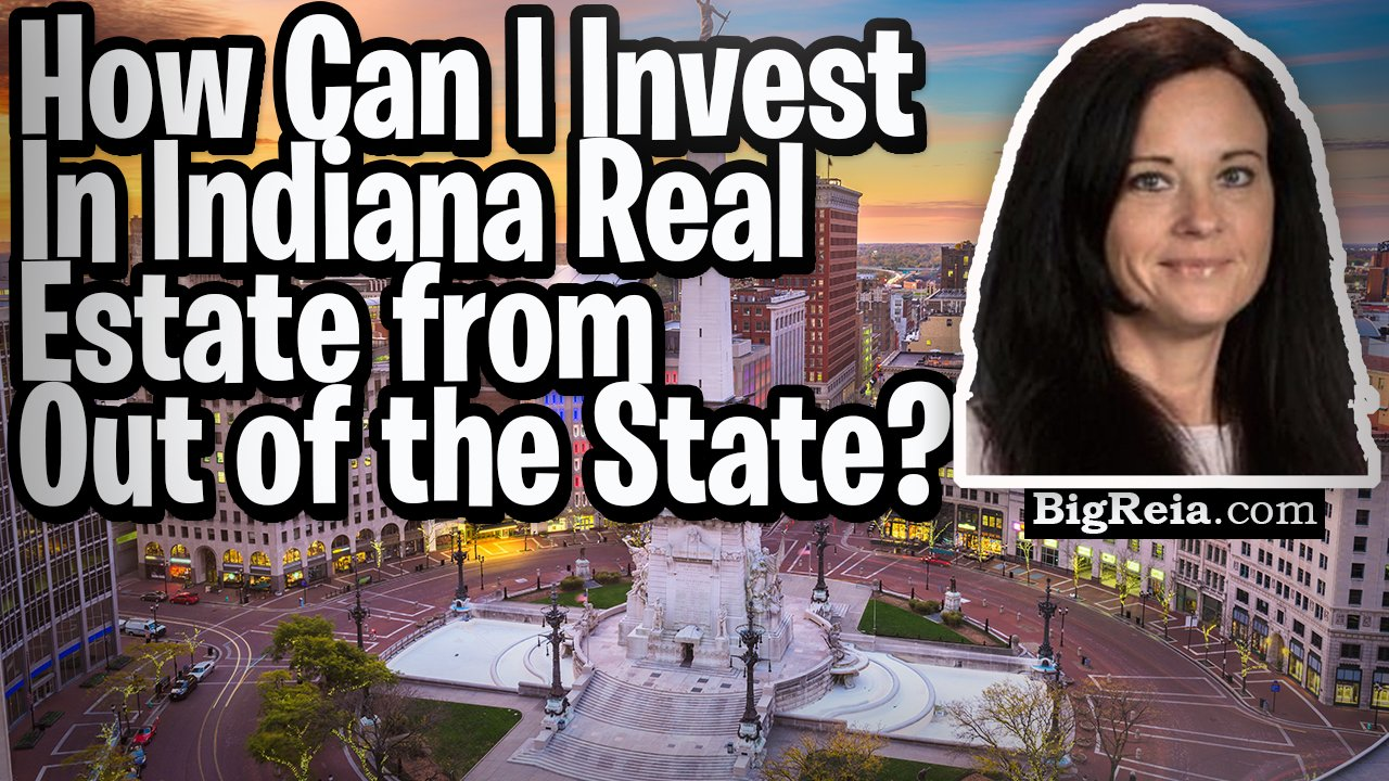 How to invest in Indiana real estate from out of state without leaving your house, how I can help.