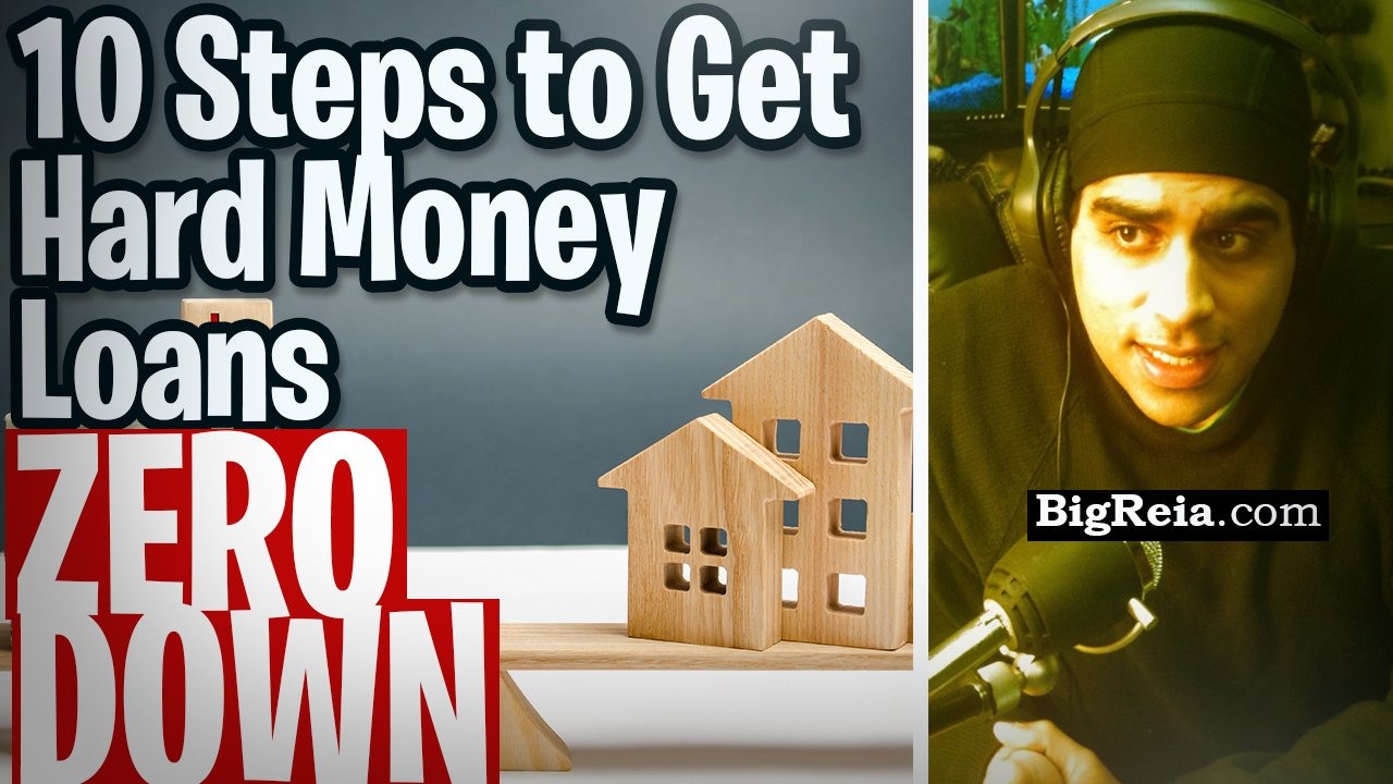 10 steps to get hard money loans zero down, get all the real estate funding you ever need zero down.