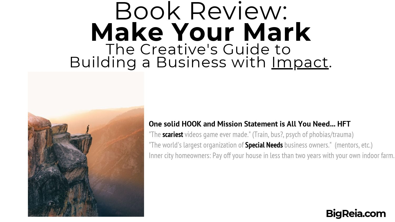 Make Your Mark book review fearless