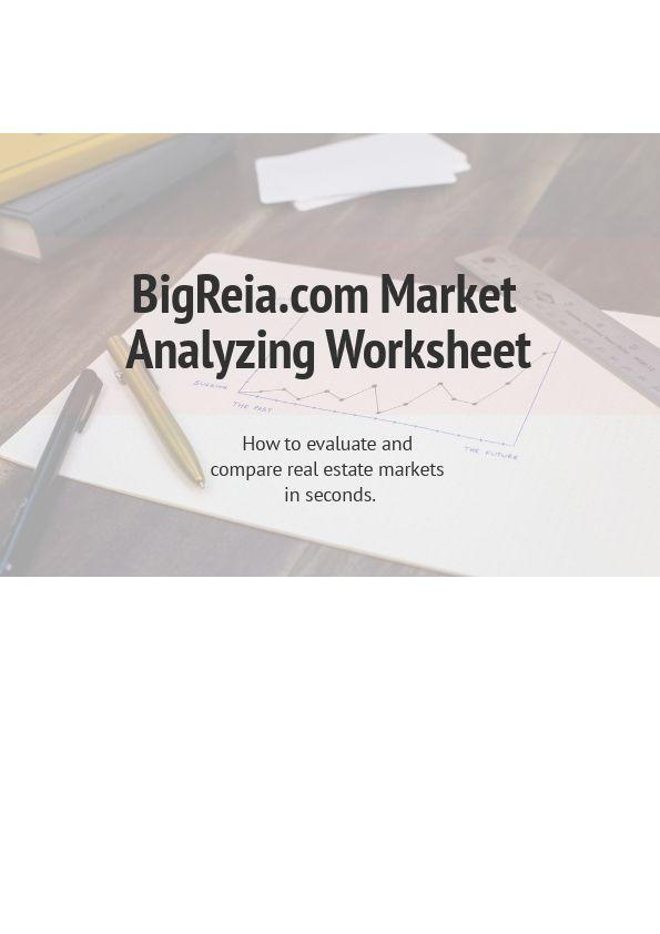 BigReia.com Real Estate Market Analyzer Cover Page