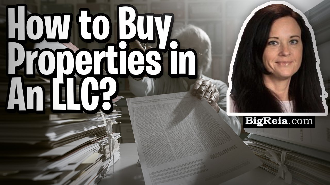 How to buy properties in an LLC, how to form an LLC and how an umbrella policy works with an LLC.