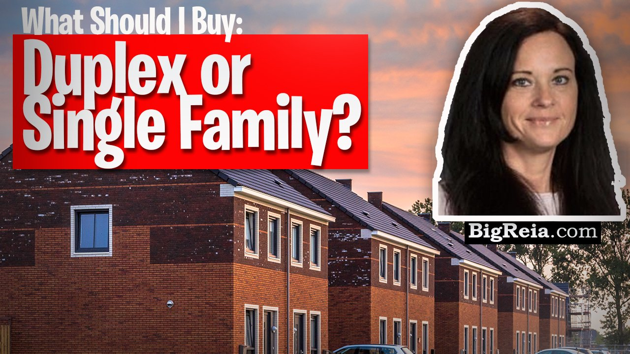 """Is it better to buy a duplex or single family in the Indy market? """"Buy and Hold"""" investing in Indy."""