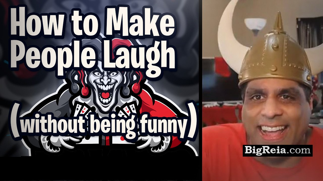 How to make people laugh, without being funny – Humor for real estate investors and business owners.