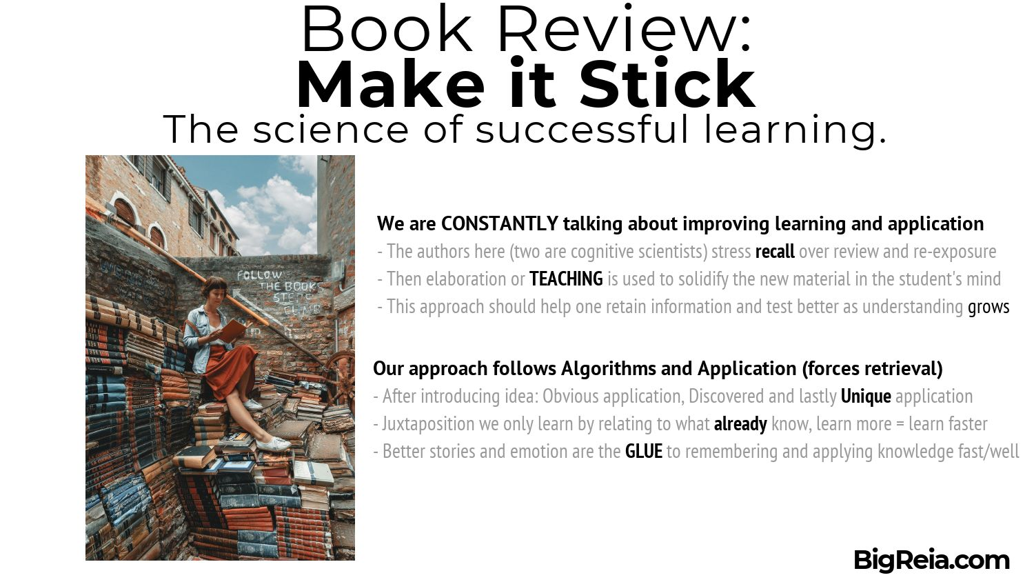 Lessons from Make it Stick book review