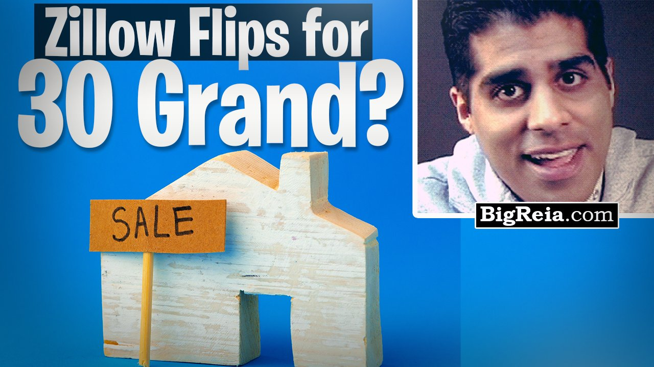 How to flip a house off Zillow for 30 grand in less than a week? No money no credit – 7 easy steps.