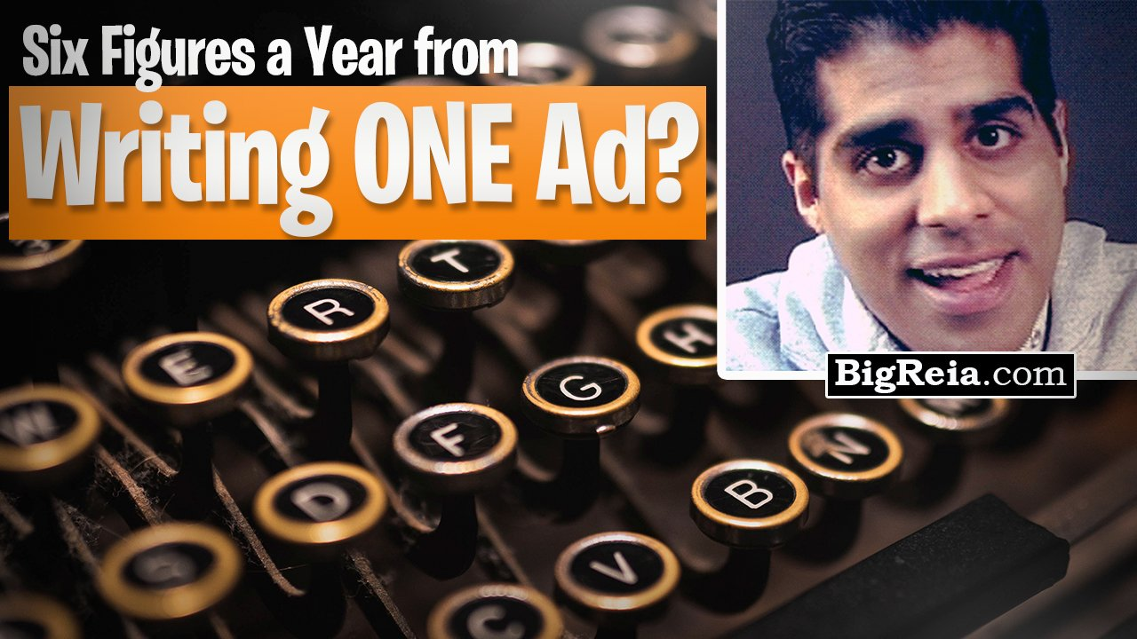 Copywriting for real estate investors: can you really make $100,000 a year from writing a single ad?