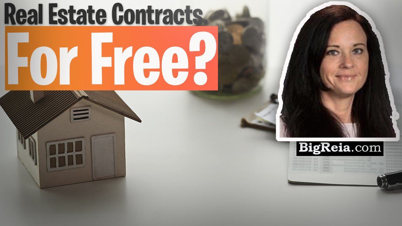 Real estate contracts for FREE: every piece of legal paperwork a real estate investor will ever need