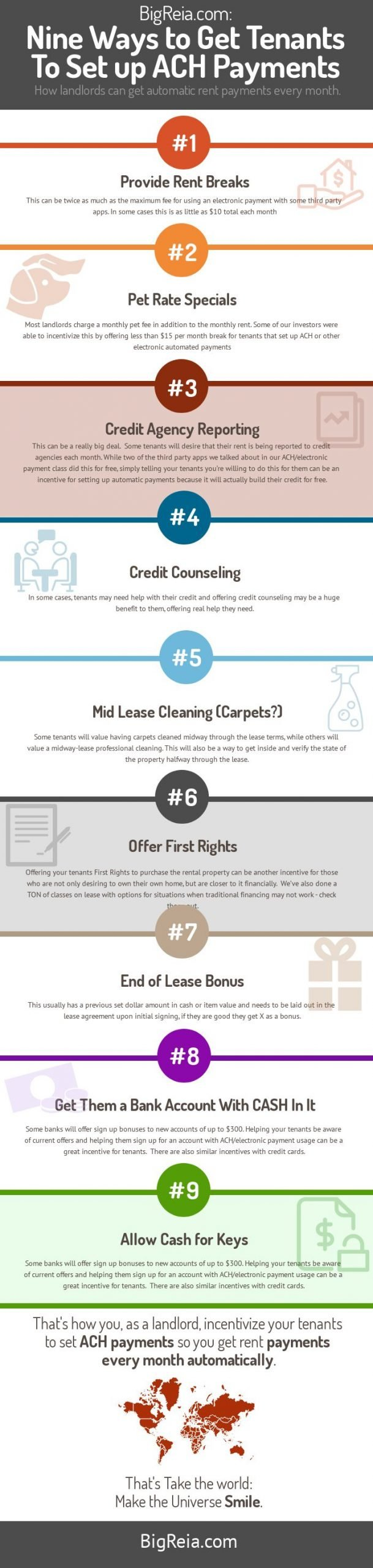 BigReia how landlords get tenants to do ACH