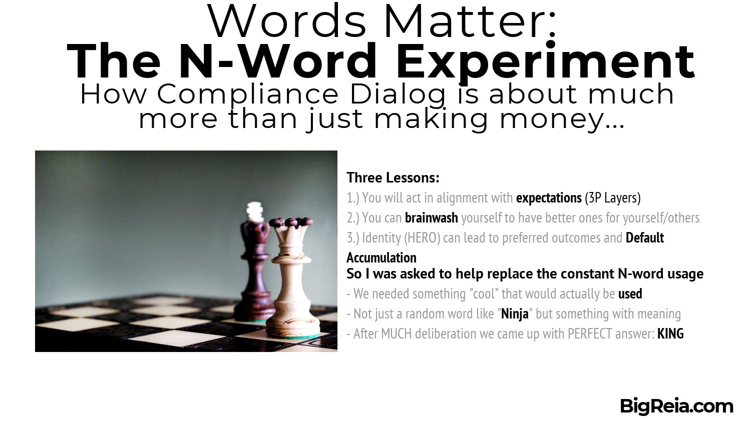 Replace Nword with KING