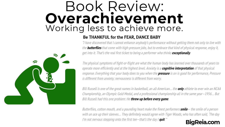Overachievement book review - BigReia.com