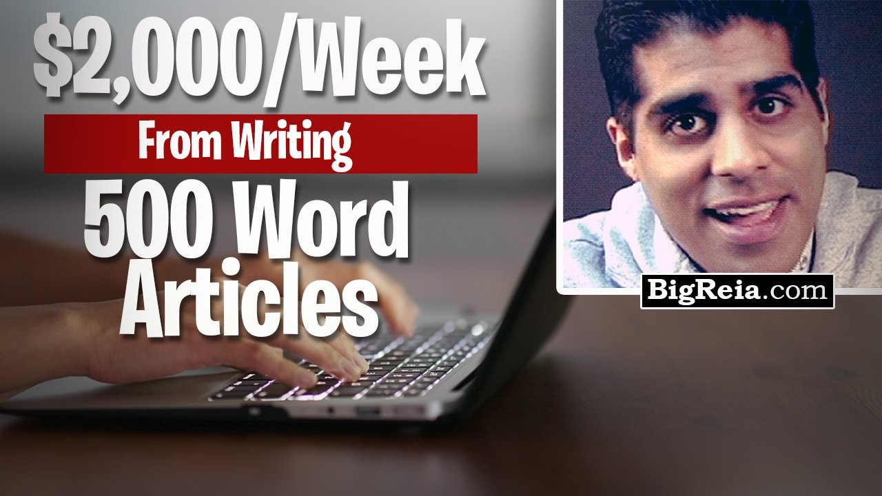 Copywriting for real estate investors: how to make an extra $2,000/week by writing 500 word articles