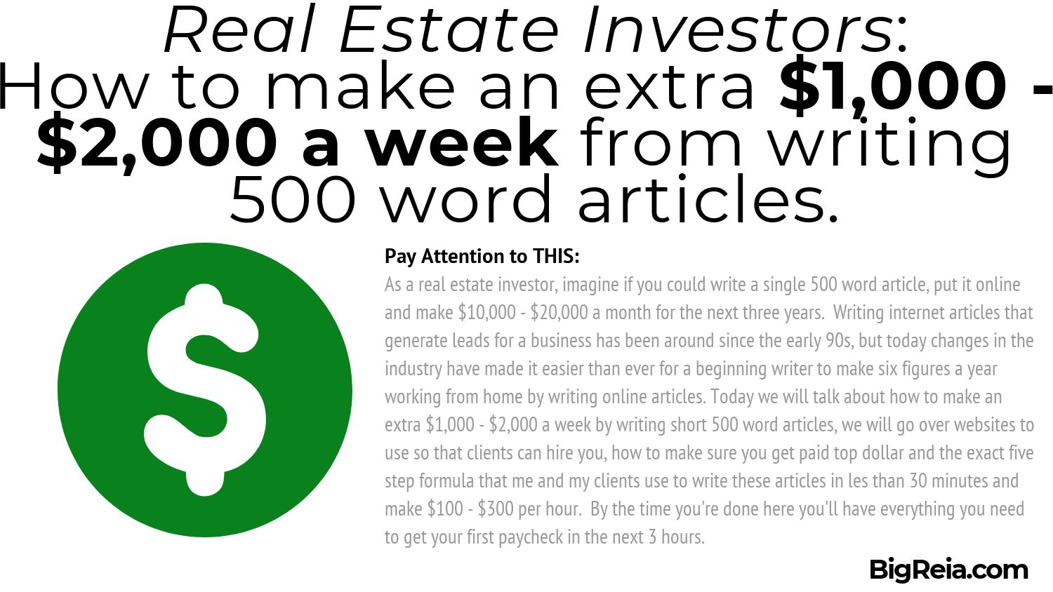 Example of article introduction paragraph