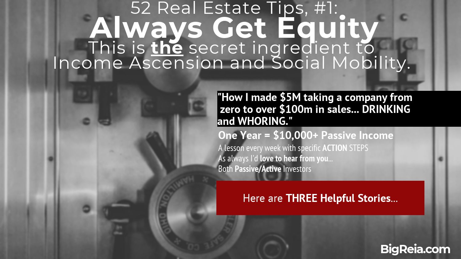 Always get equity introduction to the 5M student
