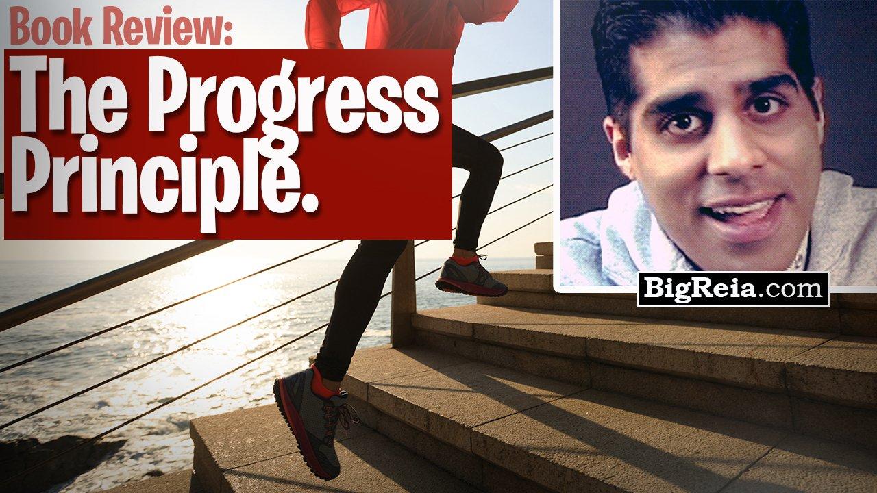 Book review of The Progress Principle by Teresa Amabile and Steven Kramer, books for real estate ppl