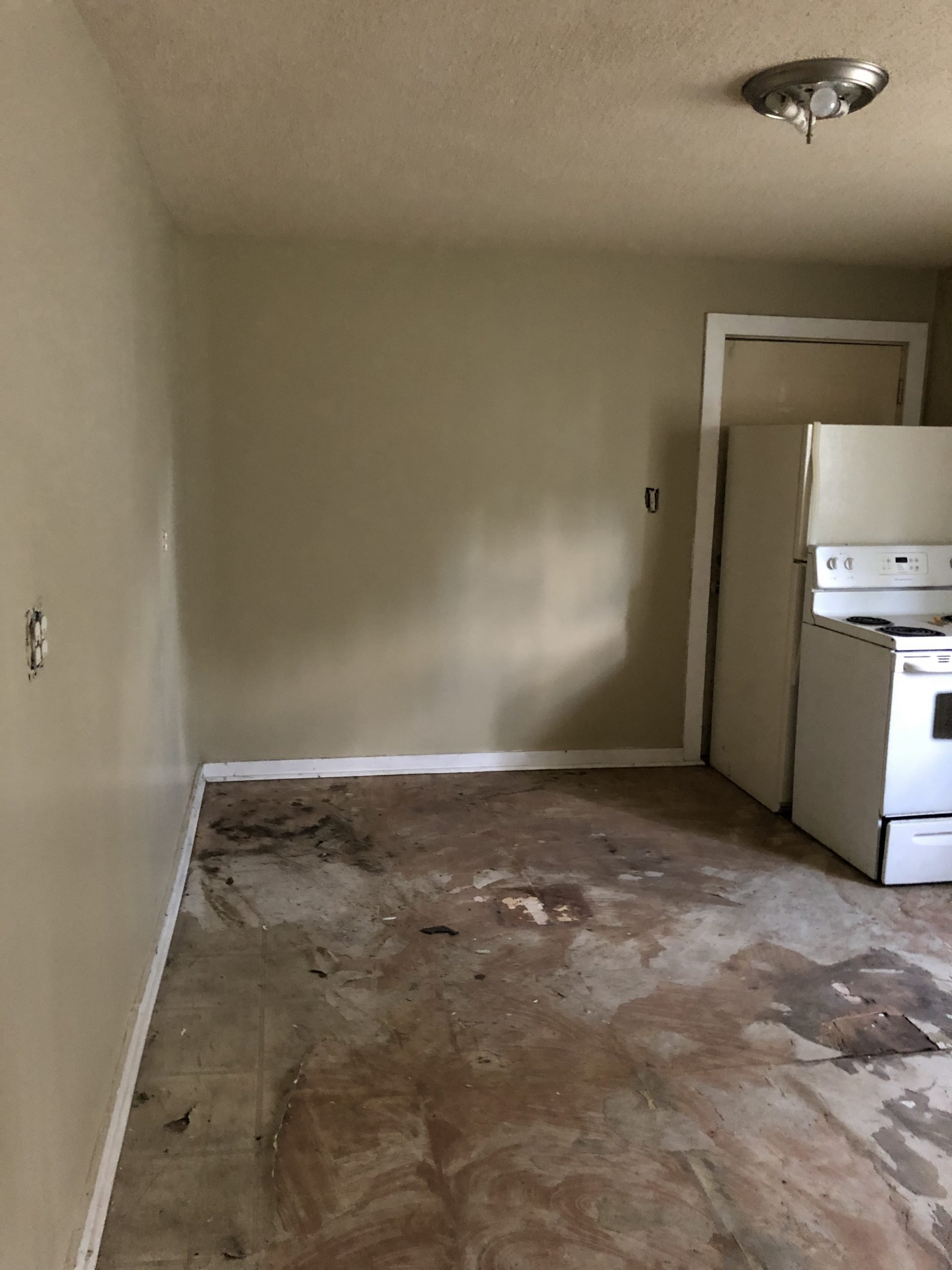 Indy duplex rehab kitchen