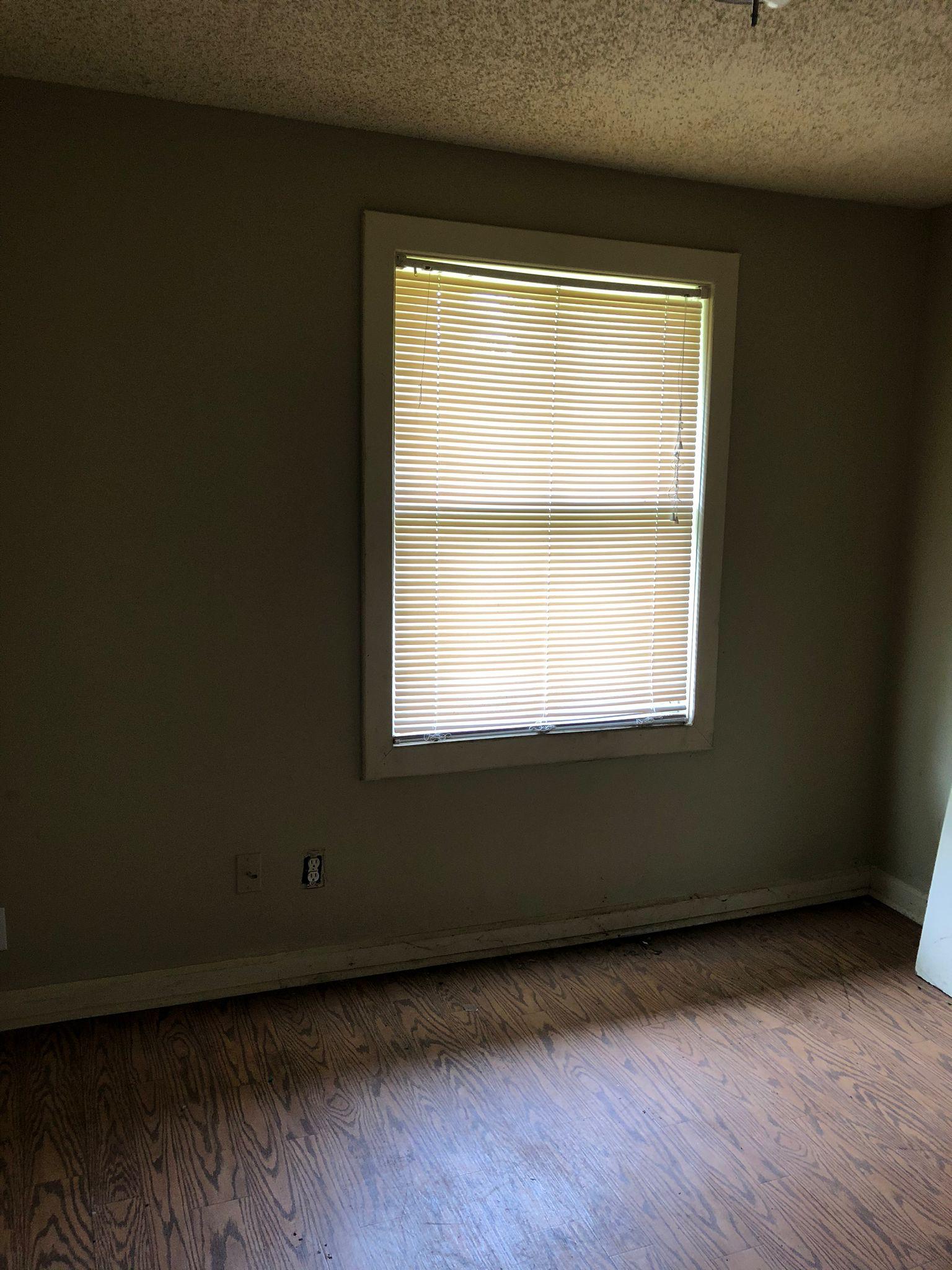 Indy duplex rehab bedroom