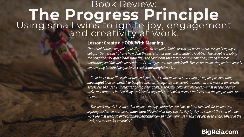 BigReia.com book review The Progress Principle