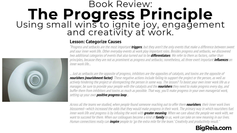 The Progress Principle book review - success loop