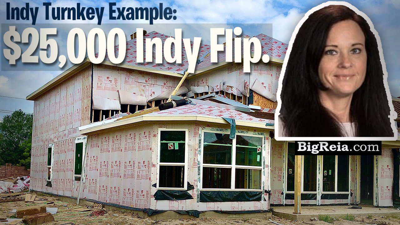 Indy 20k house flip example and update. Indianapolis turnkey investing real life example of 25k flip?