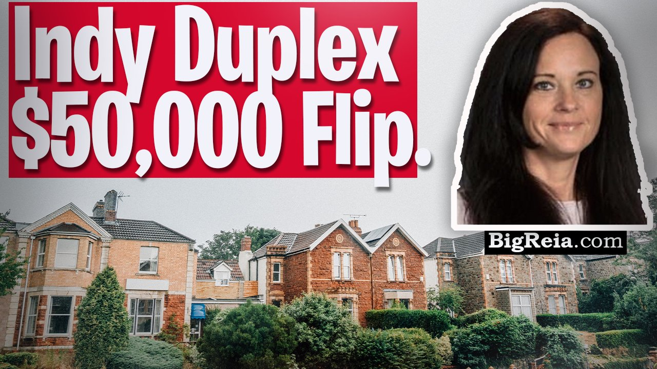 Update on 50k Indy flip, Indianapolis turnkey real estate example of a duplex deal start to finish.