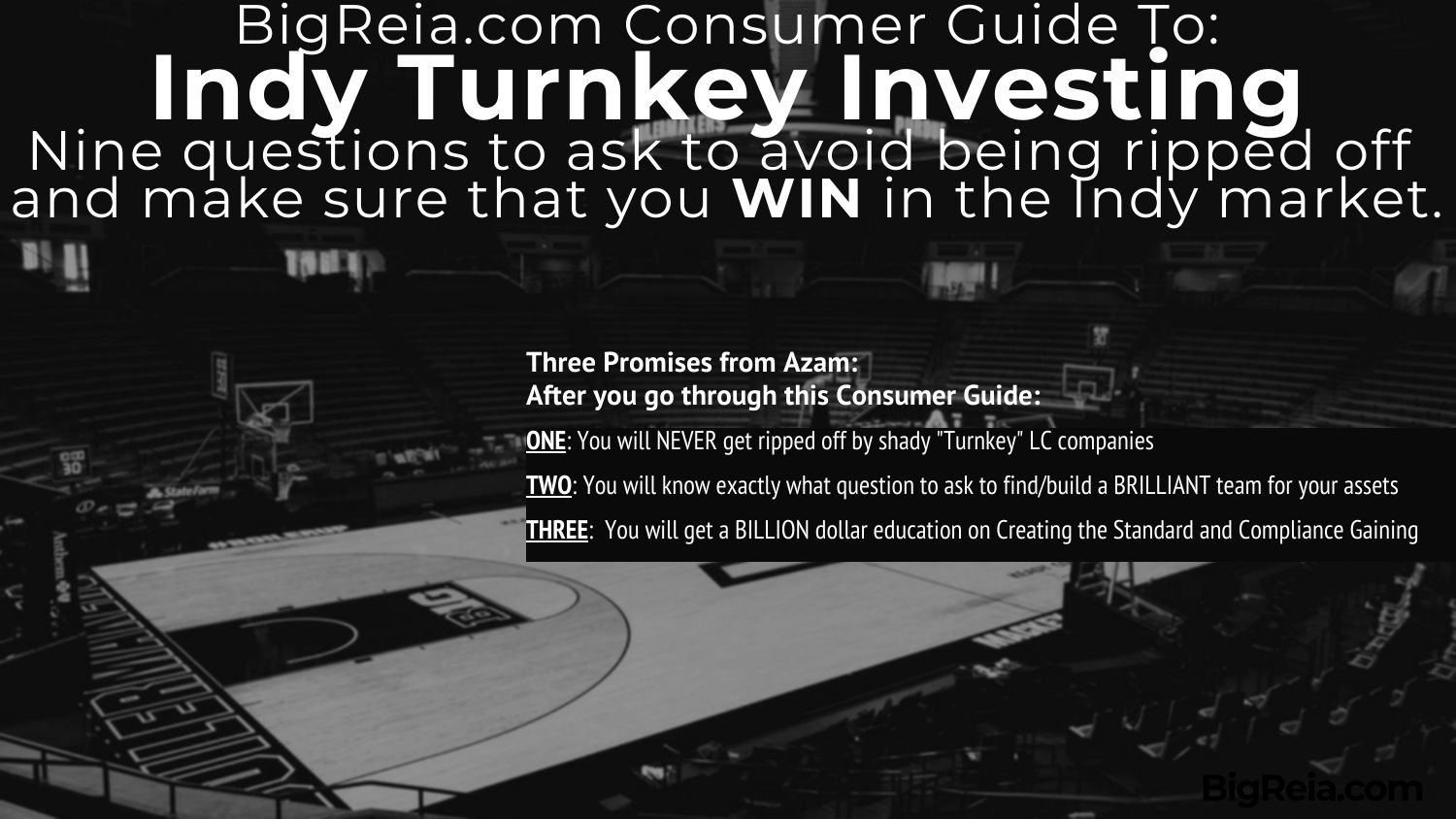 Indiana Turnkey Investing these steps are promised to avoid scams