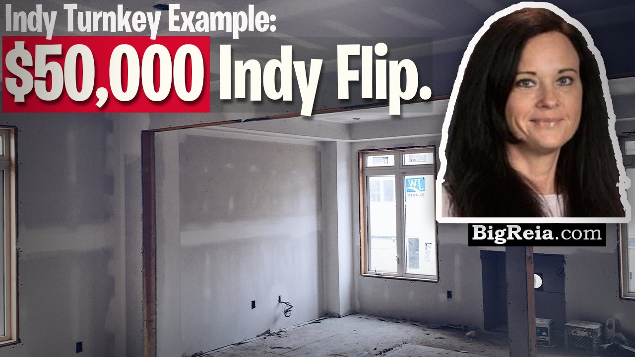 Indy duplex 50k flip update, Indianapolis turnkey investing real life example of BRRRR in Indy.