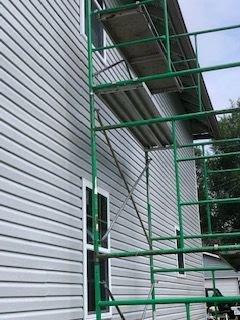 Indy duplex rehab flip scaffolding