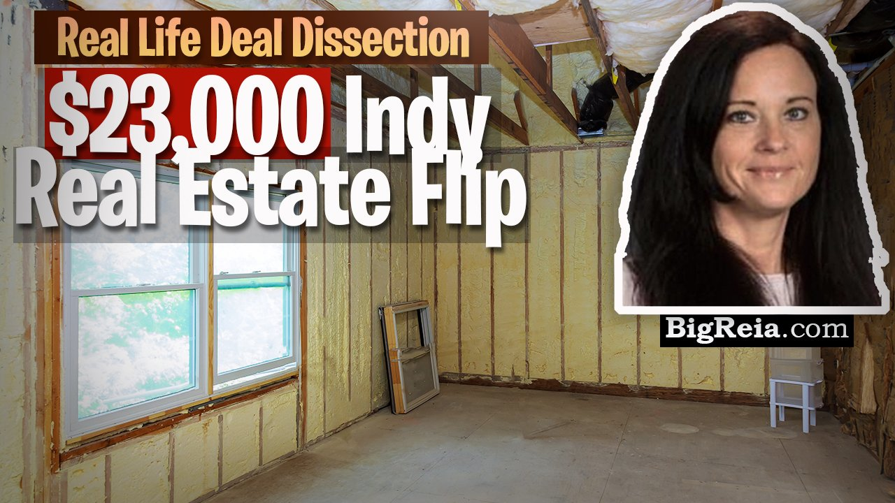 Real life 23k Indy house flip example, watch along as we flip houses in Indianapolis remotely today.