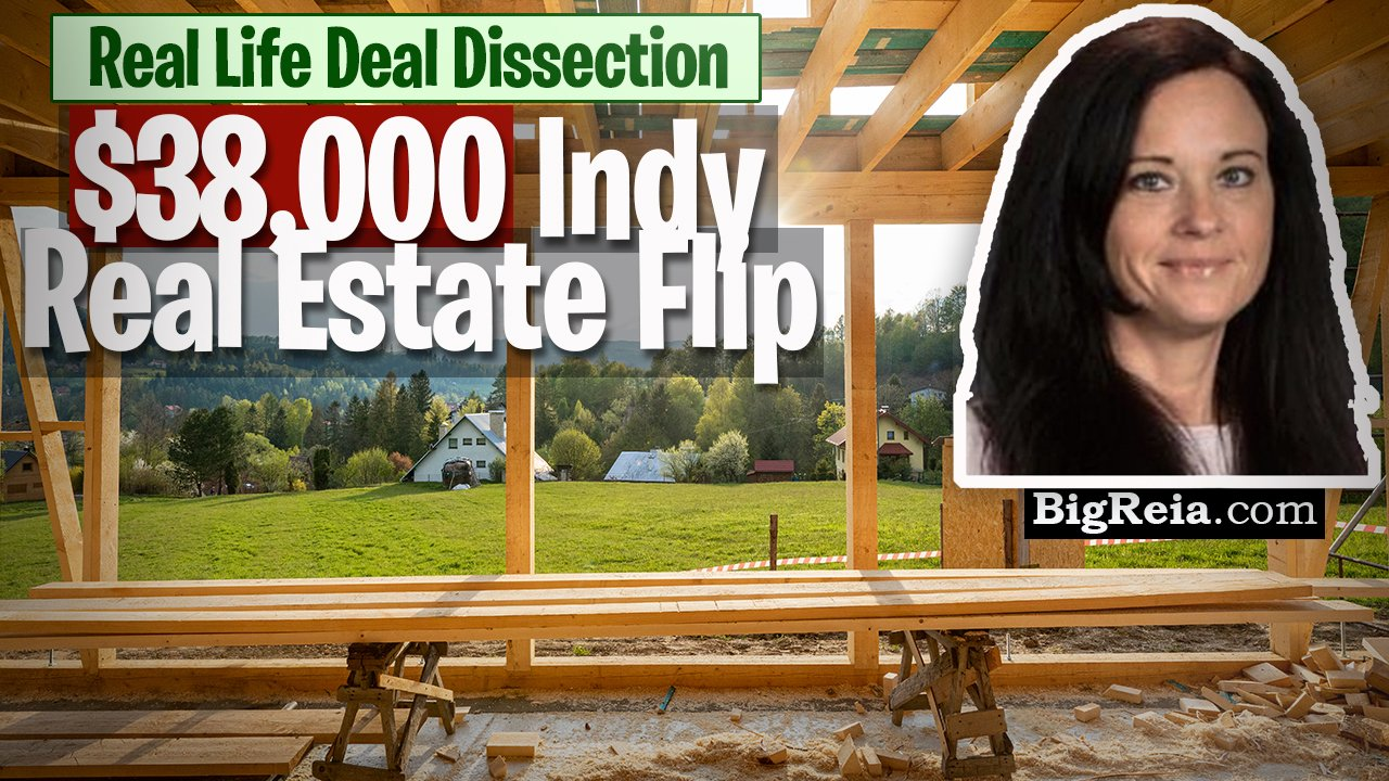 $38,000 deal using BRRRR in the Indianapolis real estate market, do this as an out of state investor